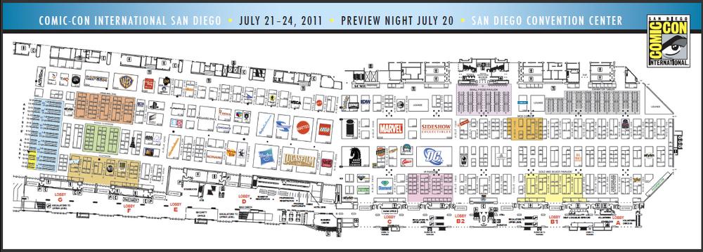 comiccon2011map